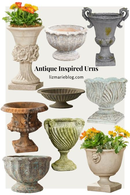 New Urns you'll be shocked that they aren't antique!  #LTKSeasonal #LTKhome