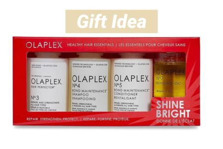 Olaplex limited-edition kit featuring a full-size No 3 Hair Protector along with travel-friendly and full sizes of other Olaplex favorites for healthy hair   #LTKbeauty #LTKGiftGuide #LTKunder100