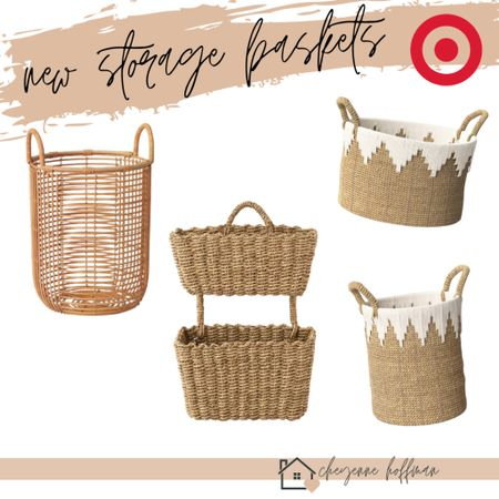 have you seen these new storage baskets from Target?!    @liketoknow.it #LTKunder50 #LTKunder100 #LTKhome http://liketk.it/35npT #targetstyle #liketkit