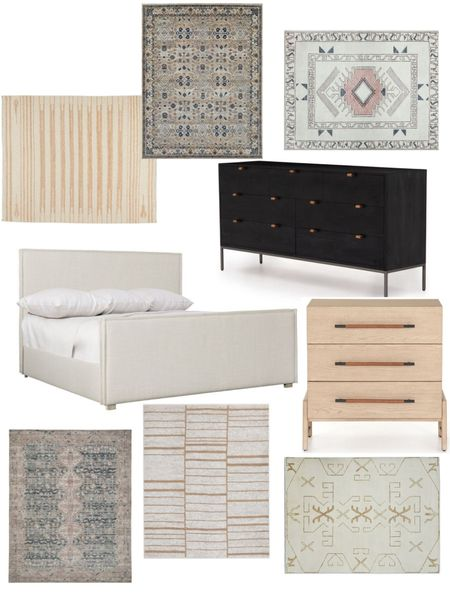 New primary bedroom furniture coming my way!! So excited but I just can't decide on a rug!   #LTKsalealert #LTKhome