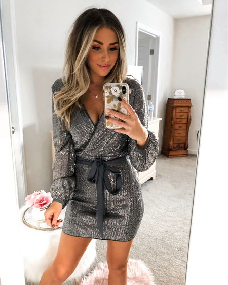 💋🎄✨🎁 // Holiday Party Outfit Inspo 🎉 this is the first of a few + probably my FAVORITE 😍 it's so flattering, comfy + the material isn't itchy at all 🙌🏽 ps. It's also UNDER $60 🤩 Can't wait to wear this pretty thing somewhere besides inside my house 😂 Happy Friday friends 🖤 . . .  http://liketk.it/2HdDk #liketkit @liketoknow.it #LTKholidaystyle #LTKstyletip #LTKunder100 #sweaterweather #cozystyle #fallstyle #fallstyles #fallstyleinspo #virginiablogger #richmondblogger #everydaymakeup #everydaystyle #balayage #balayagehair #beachwaves #beachwaveshair #bohostyle #theeverydaygirl #ltkstyletip #ltkfashion #ltkfall #winterstyle #rdbabe #holidaystyle #holidaydress #nyedress #nyeoutfit #holidaymakeup #holidaypartyoutfit