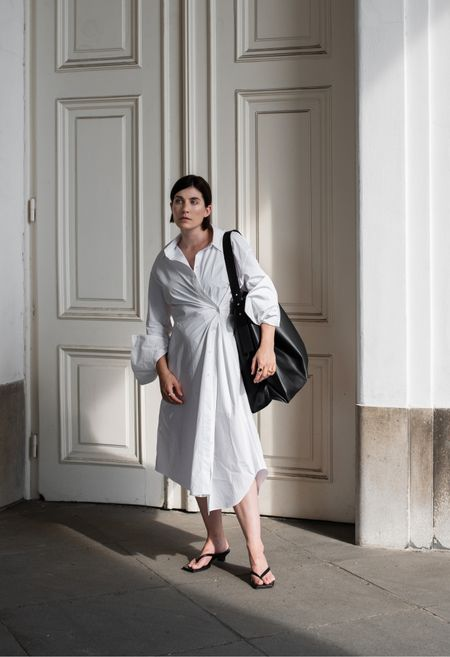 White Shirt Dress 🤍  #LTKeurope #LTKunder100 #LTKworkwear