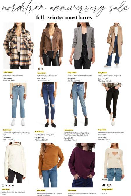 a quick roundup of the best items for fall + winter weather, on sale!   #LTKunder100 #LTKsalealert #LTKSeasonal