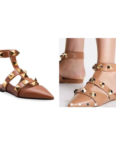 Which? $1100 or $32 stud sandals @liketoknow.it #liketkit http://liketk.it/3hOo4 #LTKshoecrush #LTKsalealert