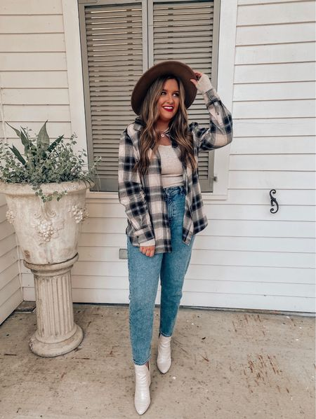 give me all the fall flannels  🍂 I love pairing them with solid basics & denim ( so many different ways to style ) lemme know your favorite way below👇🏼 // It's our wedding anniversary weekend so tomorrow will consist of a fun date night with hubby , he's been keeping the place a secret all week lol 💍 my little romantic ☺️ // entire outfit is from @hm    #LTKshoecrush #LTKunder50 #LTKstyletip