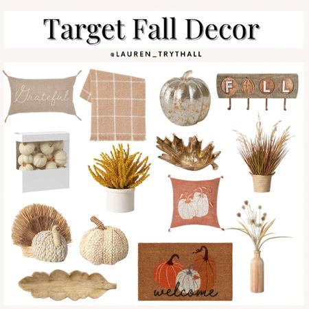 Fall decor & necessities from target! The cutest decor for the fall   #LTKSeasonal #LTKunder50 #LTKunder100