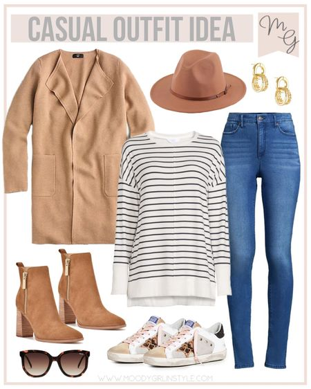Casual Outfit Idea | Fall Looks  A few of these pieces are currently on sale! #jcrew #fall #fallclothes #walmartfashion #walmart #fallcoat #fallinspiration #amazon #amazonfashion #fallfashion #fallstyle, fall fashion, workwear, jcrew style #LTKSale #liketkit   #LTKitbag