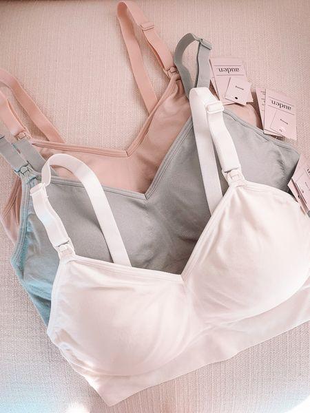 Picked up some comfy nursing bras at @target — material is so soft + stretchy!✨   #LTKbaby #LTKbump #LTKunder50