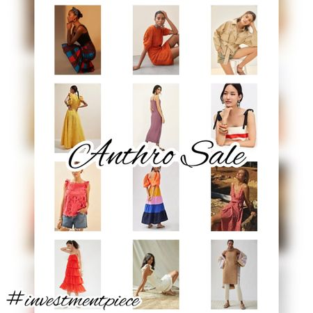 This weekend get an extra 30% off sale @anthropologie From colorful dresses to knits, these are pieces I'm loving! #investmentpiece   #LTKsalealert #LTKunder100 #LTKstyletip