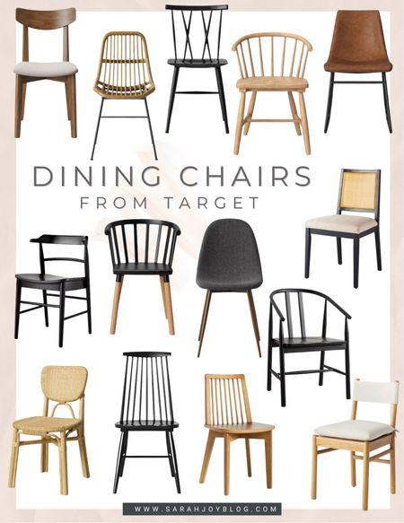 Affordable dining chair options from Target.   #LTKbump #LTKsalealert #LTKfamily