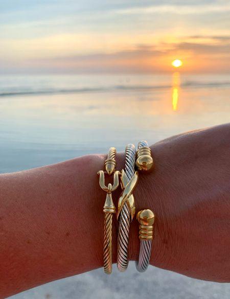 Great bracelets for summer!      #bracelet #cuff #cablebraclets #cablecuff #cablecuffs #sliverbracelets #silvercuffs #silvercuff #styledcollection #styledcollectionbangle #styledcollectionbracelet #styledcollectioncuff #goldbracelets #bracelets #springaccessories #springbracelets #cuffbracelet   #bracelet #styledcollection #styledcollectionbangle #styledcollectionbracelet #styledcollectioncuff #goldbracelets #goldbracelet #bracelets #springaccessories #springbracelets #cuffbracelet #pulltiebracelet #pulltiebracelets #cablebangle #beadedbracelets #beadedbracelet                                                                                                                                                         #LTKunder100 #LTKstyletip #LTKunder50
