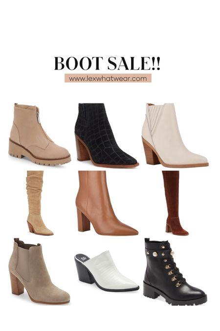 Boot Sale At Nordstrom!!   #LTKshoecrush #LTKsalealert