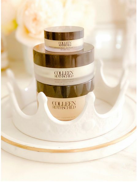 My favorite makeup remover and cleansing balm is on sale this weekend. Your makeup melts off with this balm from @colleenrothschild #colleenrothschild  #CRBeauties Plus a few other favs are on sale!  #LTKsalealert #LTKbeauty #LTKunder50