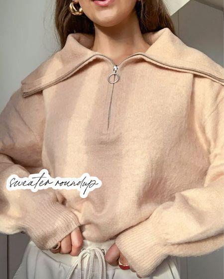 Sweater roundup 🤍   #LTKunder100 #LTKstyletip