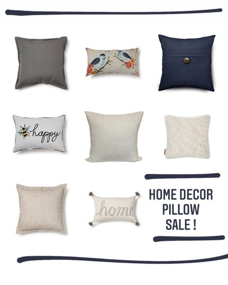 Home decor pillow sale ! Just linked my favorite adorable patterns & the neutral ones as well. Check them out while they're on sale & in stock! #LTKsalealert #LTKunder50 #LTKhome #liketkit @liketoknow.it @liketoknow.it.family @liketoknow.it.home http://liketk.it/3cZZv Shop your screenshot of this pic with the LIKEtoKNOW.it shopping app