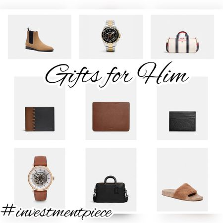 Wallets. Briefcases. Boots. And watches. All the things men in your life might want from @coach (this list was dad and boyfriend approved!) #investmentpiece   #LTKGiftGuide #LTKmens #LTKstyletip