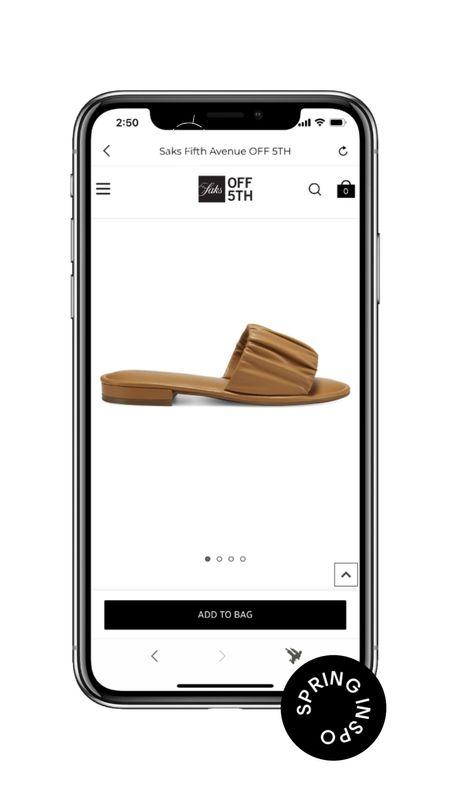 Neutral Slides Perfect For Dressing Up or Down  #LTKstyletip #LTKunder100 #LTKshoecrush
