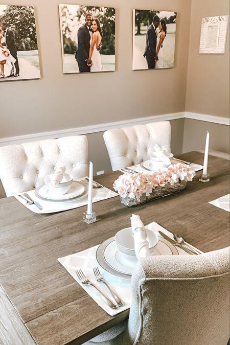 Dinning room set full blog JackieEnos.com http://liketk.it/3hUNF #liketkit @liketoknow.it #LTKhome #LTKstyletip #LTKfamily