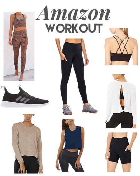 Amazon workout ✨ workout clothes ✨ sports bras ✨ biker shorts ✨ joggers ✨ leggings ✨ workout tops ✨ yoga ✨ tank tops ✨ amazon prime ✨ amazon fashion Shop my daily looks by following me on the LIKEtoKNOW.it shopping app http://liketk.it/32G3n #liketkit @liketoknow.it #LTKfit #LTKsalealert #StayHomeWithLTK #ltkunder50 #ltkstyletip #ltkgiftinspo