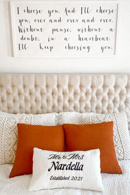 Bedding and decorative pillows #homedecor   http://liketk.it/3hPaJ #liketkit @liketoknow.it @liketoknow.it.brasil @liketoknow.it.europe @liketoknow.it.family @liketoknow.it.home #LTKfamily #LTKhome #LTKstyletip