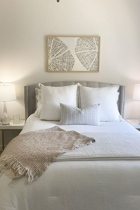 loving my bedroom, so light and peaceful   #LTKhome