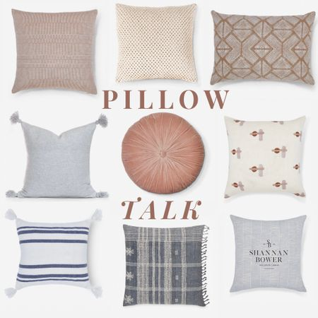 Let's talk pillows! 🥰  They are such a fun, inexpensive way to change up a space!   #style #pillow #home #homedecor #styleinspo #neutral #luluandgeorgia #palette #design #decor   #StayHomeWithLTK #LTKhome #LTKstyletip