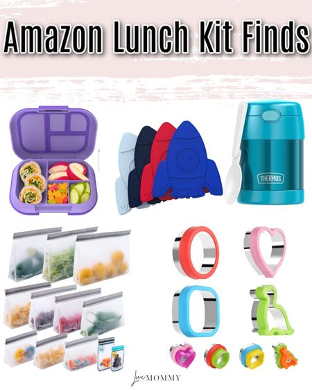 Amazon Lunch Kit Finds! Perfect for the kiddos!  #LTKfamily