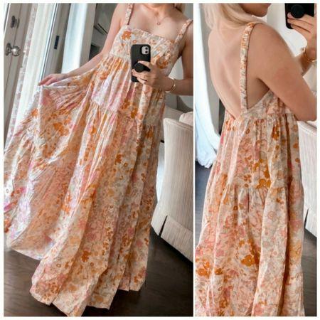 Nordstrom Floral Maxi Dress, Nordstrom Summer Dress, Nordstrom Summer Find, Free People Dress, http://liketk.it/3hYv1 @liketoknow.it #liketkit  #LTKstyletip