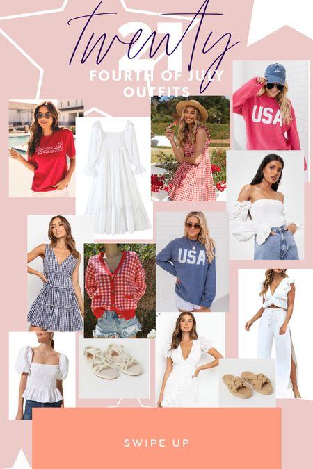 Fourth of July finds 🇺🇸  #LTKstyletip #LTKunder100 #LTKunder50