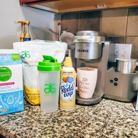 Why spend $6 at #starbucks when you can make your own lattes at home! #keurig kcafe at Target comes with a free $40 giftcard with purchase! DM @theblendedblonde_ for more info on my plant based protein from Arbonne 🌱💕  http://liketk.it/2O1Ii @liketoknow.it #liketkit #LTKsalealert #LTKunder50 #LTKhome