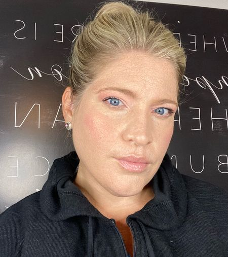 Makeup tutorials for a daytime work look using the by cosmetics party in Puerto Rico palette.   #LTKbeauty