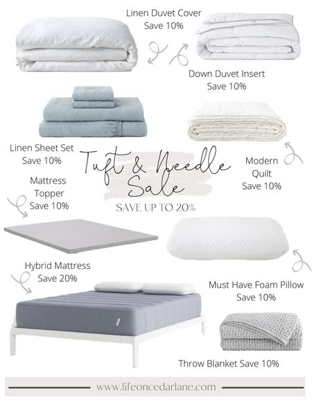 Bedding sale at Tuft & Needle! Score my mattress for 20% off now. I have the hybrid and it's amazing! Also do not miss their foam pillow, stays cool and so comfy!   #LTKsalealert #LTKhome
