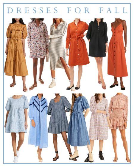 Dresses for fall   #LTKunder100 #LTKSeasonal #LTKbacktoschool