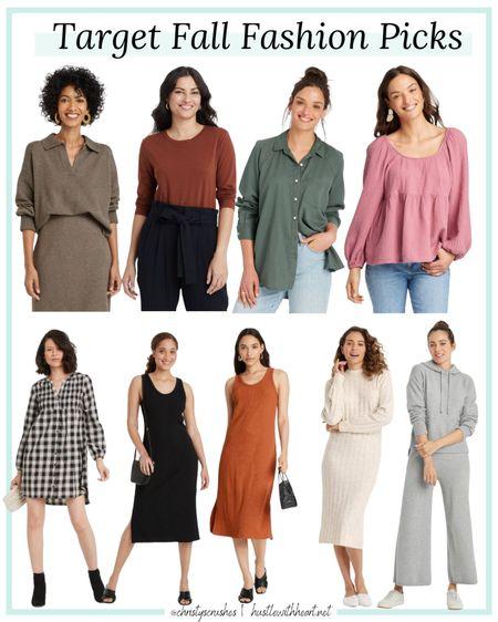 Fall fashion picks from target, all under $50   #LTKunder50 #LTKstyletip