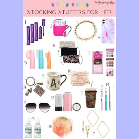 Just added a new gift guide to the blog (www.ashleymorganstyle.com) full of stocking stuffer ideas for the girls on your shopping list. Lots of budget friendly options! You can use my Loopy Cases code ASHLEYMORGANSTYLE for 10% off your purchase as well. @liketoknow.it #liketkit #LTKgiftspo #LTKbeauty #LTKunder50 #giftguide #giftsforher #giftsonabudget #tarte #tula #qvc #amazonfinds #stockingstuffers #giftideas #christmasgifts #holidaygiftguide http://liketk.it/31RXF
