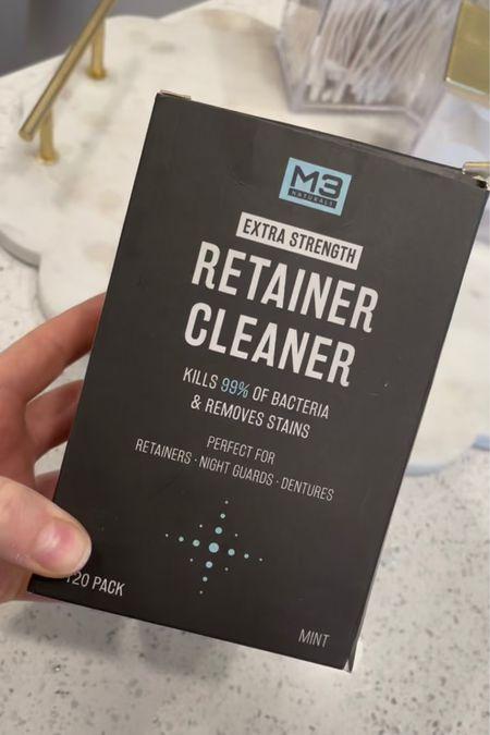 Amazon tooth brush and retainer care   #LTKbeauty #LTKhome #LTKsalealert