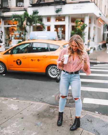 to be young and in love and in New York City 💕 Shop your screenshot of this pic with the LIKEtoKNOW.it app @liketoknow.it #liketkit  #LTKunder100 #LTKshoecrush http://liketk.it/2xgjm