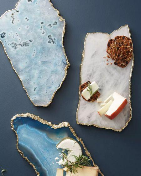 Agate cheese board by Anthropologie.   http://liketk.it/3jr2F @liketoknow.it #liketkit #LTKhome #LTKwedding #LTKsalealert