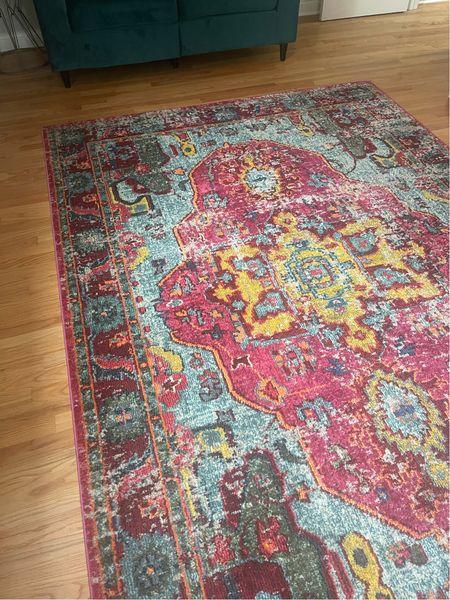 My big area rug is 75% off today!!!! Mine is the 6.9 x 9 size.   #LTKsalealert #LTKfamily #LTKhome