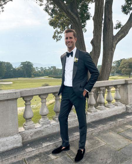 Wedding guest men's team tuxedo. http://liketk.it/3k0gY #liketkit @liketoknow.it #LTKwedding