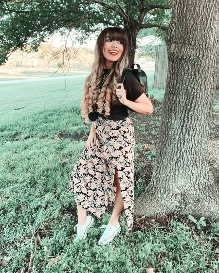 Living in dresses & midi skirts for the summer, because it's just way to hot for anything else ✌🏼 Who else loves their pretty little floral dresses and skirts this time of year?! 🙋🏻♀️  http://liketk.it/2QYAO #liketkit @liketoknow.it #StayHomeWithLTK #LTKspring #LTKstyletip @liketoknow.it.home Shop my daily looks by following me on the LIKEtoKNOW.it shopping app