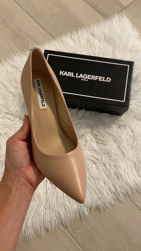 Part of Nordstrom's #nsale very soft and heel hieght  is not to high. Nude stiletto Staple for fall!   #LTKunder100 #LTKshoecrush #LTKsalealert