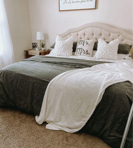 Neutral bedroom decor. Neutral bedding. Neutral bedroom. Bedroom decor on a budget. King size bedroom decor. King size neutral bedroom. Cozy bedroom decor. Gray bedding. Beige beds. Bedroom refresh ideas. Neutral bedroom ideas. Neutral bedding decor.  #LTKhome #LTKSeasonal #LTKSpringSale