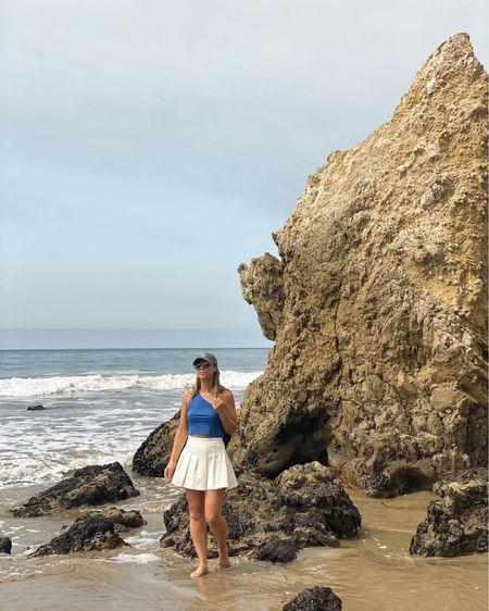 Tennis skirt #workout  #beach   #LTKunder50 #LTKfit #LTKtravel