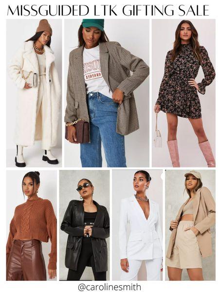 Missguided LTK Gifting Sale  Use code LTKSALE for 50% off Blazer  Fall style Cropped sweater   #LTKGiftGuide #LTKsalealert #LTKSale
