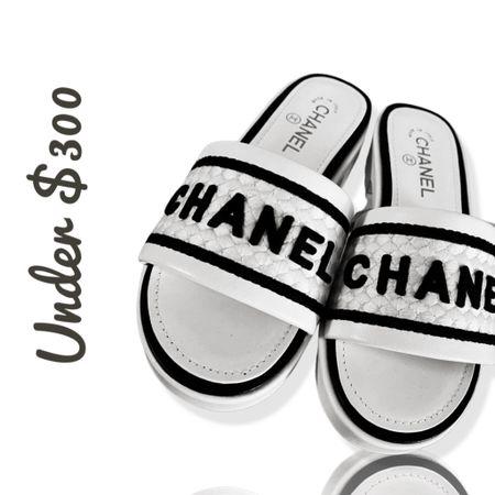 Chanel slides   #LTKshoecrush #LTKworkwear #LTKtravel