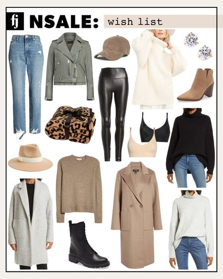 My wish list for the Nordstrom Anniversary Sale! I always stock up on fall items I can wear all throughout the season! It's the best time to save nearly 50% off on high ticket items. Coats/jackets, sweaters, and boots are always at the top of my list. Save these items to your LTK wish list so you can shop as soon as the sale goes live! #nsale #fallfashion #nordstromanniversarysale #fashionjackson #liketkit  #LTKsalealert #LTKunder50 #LTKunder100