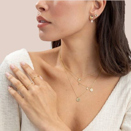 ring stack, thin rings, jewelry, gold rings, accessories http://liketk.it/3iIdy #liketkit @liketoknow.it #LTKunder50 #LTKstyletip #LTKwedding
