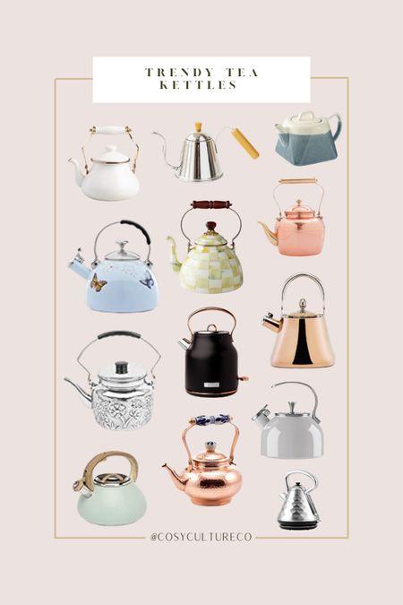 Really trendy/pretty tea kettles   #LTKhome #LTKstyletip #LTKfamily