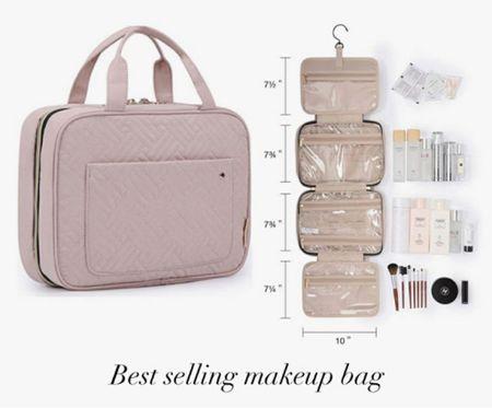 Amazon Beauty Bag, Amazon Toiletry Tote, Amazon Travel Bag  #LTKunder50 #LTKtravel